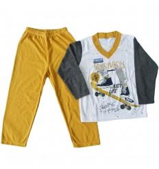 Pijama dos piezas para niño- Estampada