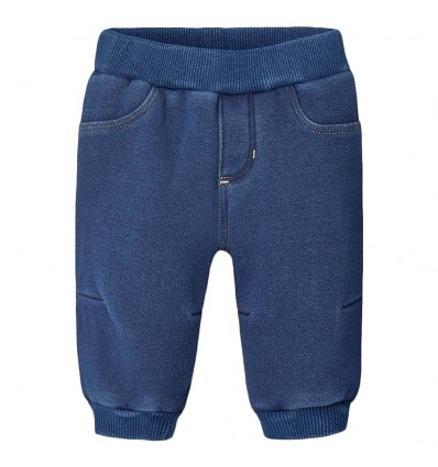 Pantalon sudadera para bebé-Azul