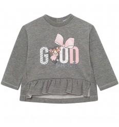 Buzo para bebé niña arandela-gris