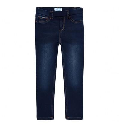 Leggings en jean para niña- oscuro