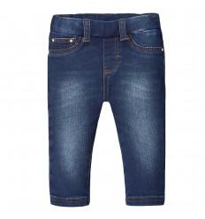Leggings en jean para bebé niña-oscuro