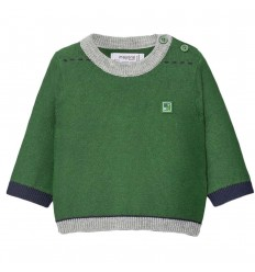 Buzo en hilo para niño- Verde