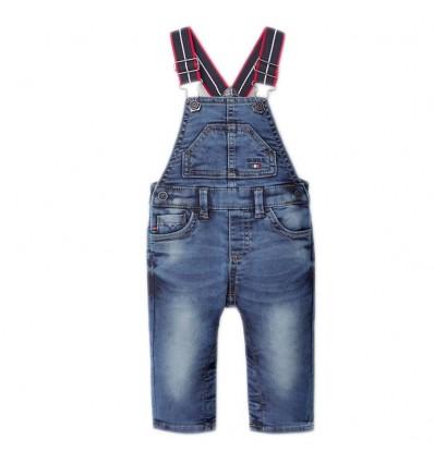 Overol para niño en jean- Azul