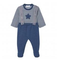 Conjunto 2 piezas para bebé niño- Azul oscuro