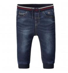 Pantalon jean para bebé jogger - oscuro