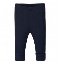 Leggings tejido para bebé- Marino Azul