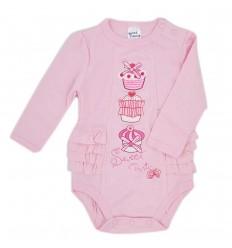 Body para bebé niña-Cupcakes- Rosado