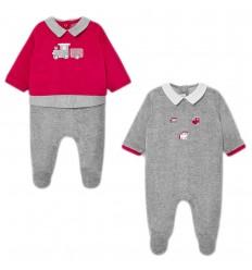 Set de dos pijamas para bebé niño-Velvet