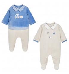 Set de2 pijamas para bebé niño-pacifico