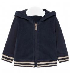 Chaqueta para bebé niña- Azul Marino