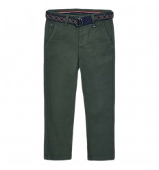 Pantalon en dril para niño- Pino