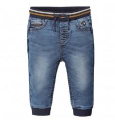 Pantalon jean para bebé jogger- Básico