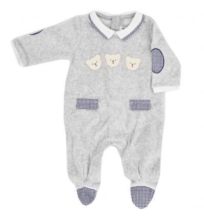 Pijama enteriza mayoral para bebé- Ositos