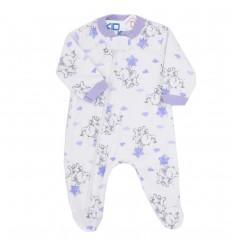 Pijama para bebé prematura- Elefanticas