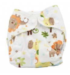 Pañal ecológico para bebé- Animales de la selva