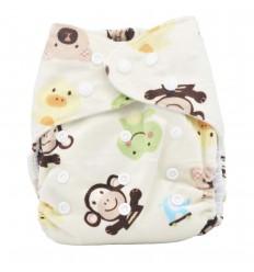 Pañal ecológico para bebé-animales