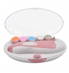 Lima electrica para bebé rosada