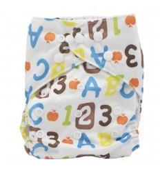 Pañal ecológico para bebé- números