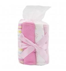 Toallitas para bebé babitas Rosadas