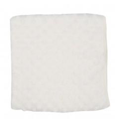 Cobertor para bebé con relieve-Crema