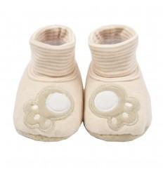 Babuchas en botica para bebé-Beige