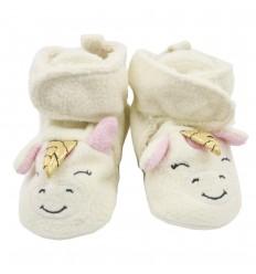 Babuchas en botica para bebé niña-Unicornio