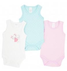 Set de 3 bodys para bebé niña- Sisa- Hada