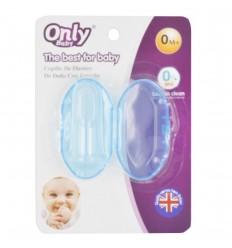 Cepillo dental para bebes con estuche- Azul