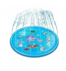 Piscina de chorros para niños- Azul