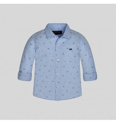 Camisa azul Mayoral