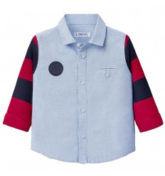 Camisa manga larga para bebé niño- Lavanda