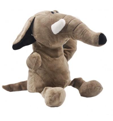 Títere en peluche- diseño de Elefante