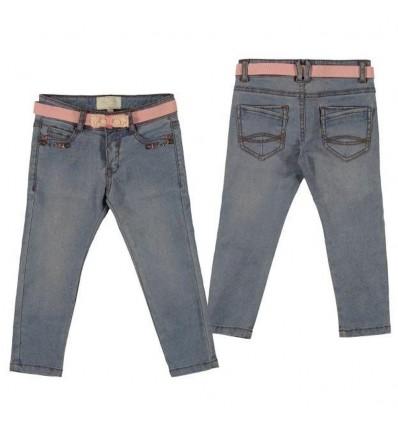 pantalón-para-niña-outlet-mayoral-jean-cinturón-rosa