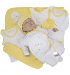 Primera muda para bebé- Amarillo pollito