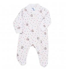 Pijama para bebé prematura -ovejitas