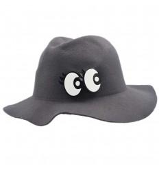 Sombrero para niños- Ojitos - Gris