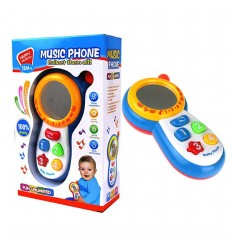 Telefono musical sin límites- Azul