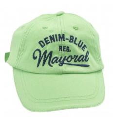 Gorra mayoral para niño - Verde
