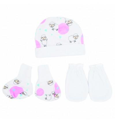 Set para bebé prematura - Ovejitas