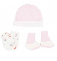 Set para bebé prematura - Rosa