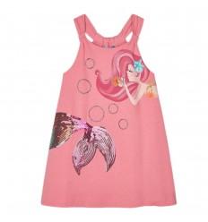 Vestido para niña Sirena lentejuelas