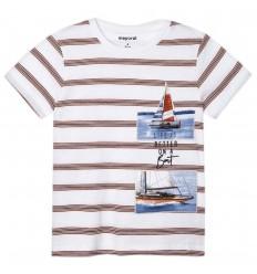Camiseta rayas Ecofriends niño