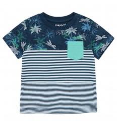 Camiseta estampada para bebé niño- Azul