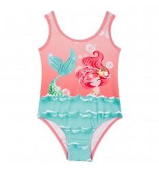Vestido de baño para niña Rosa- Sirena