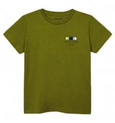 Camiseta ECOFRIENDS never stop niño -Verde