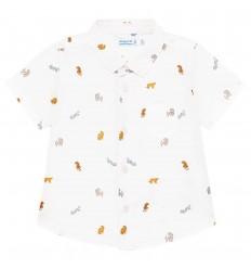 Camisa manga corta - Blanco Tigres