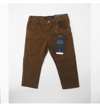 Pantalón café niño