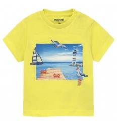 Camiseta manga corta Ecofriends bebé niño