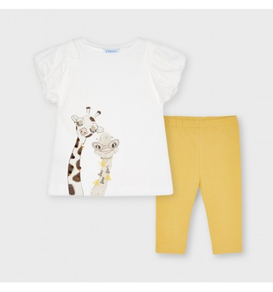 Conjunto para bebé niña pesquero - Coral