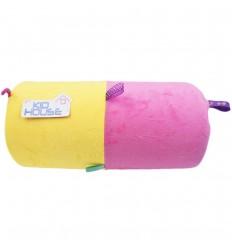 Rollo de estimulacion para bebé-Amarillo Rosa